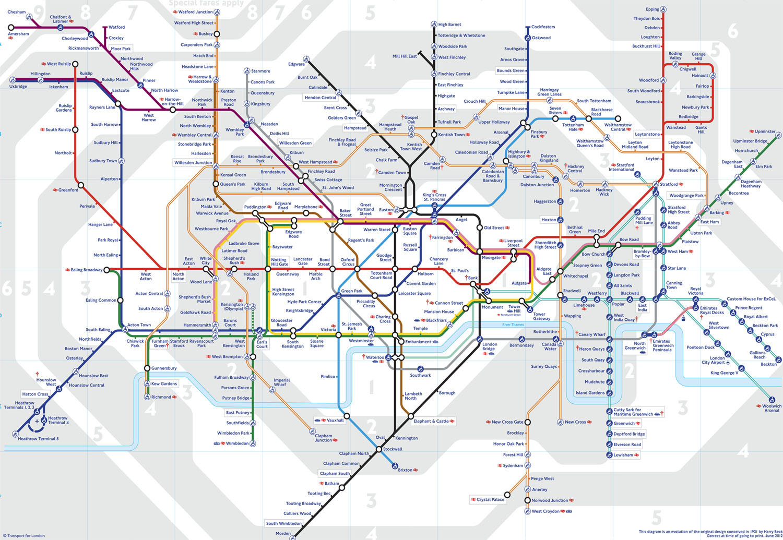 londres mapa ciudad: