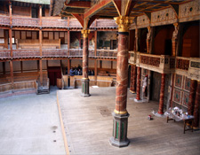 Interior del Shakespeare's Globe Theatre