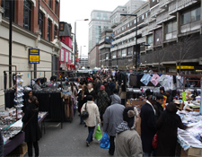 Mercadillo de Petticoat Lane